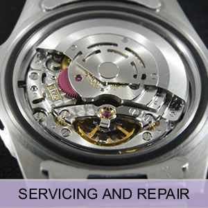 Watch servicing and repair