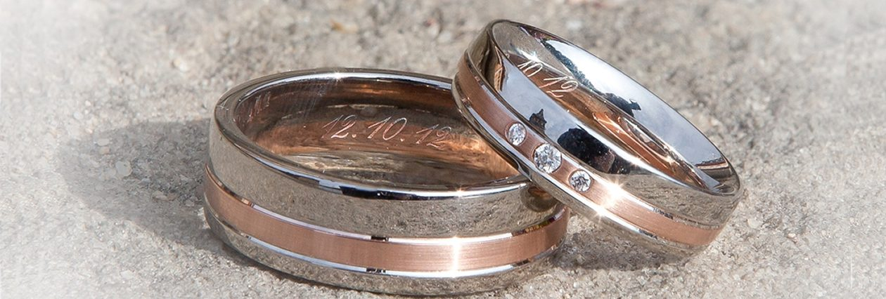 Wedding rings from Wymans Jewellers